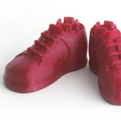 MAKIES_Brogues_Red_display_large.jpg Download free STL file Makies Brogues • 3D printer model, Makies