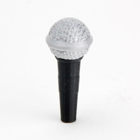 Free 3D print files Makies Microphone, Makies