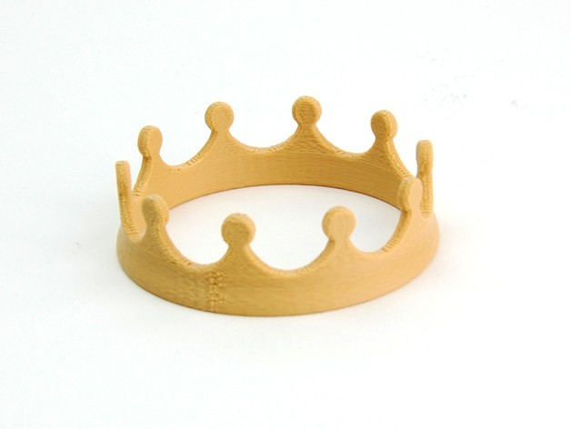 MAKIES_Crown_Beige_display_large.jpg Télécharger fichier STL gratuit Couronne Makies • Modèle à imprimer en 3D, Makies