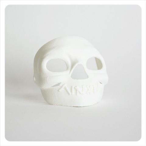 Download free 3D printing models Makies Spooky Skull Mask, Makies