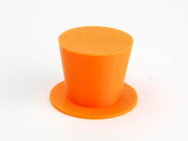 MAKIES_TopHat_Orange_display_large.jpg Download free STL file Makies Top Hat • 3D printable object, Makies