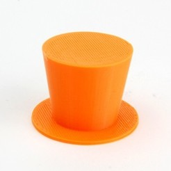 MAKIES_TopHat_Orange_display_large.jpg Download free STL file Makies Top Hat • 3D printable object, Makies