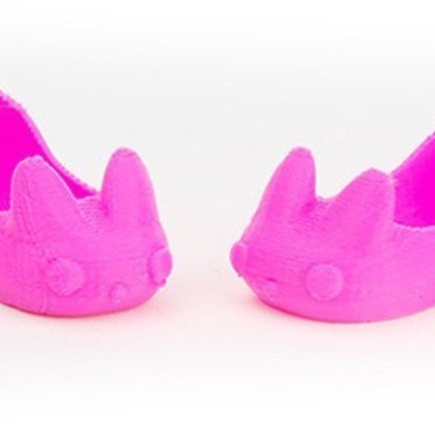 Download free 3D printing templates Makies Bunny Slippers, Makies