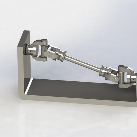 Télécharger modèle 3D gratuit JUNTA CARDAN, allv