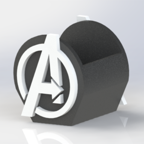Download 3D printing models avengers pen holder, allv