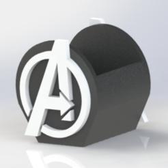 Descargar archivos STL gratis avengers pen holder, allv