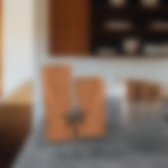 Part2estrella.STL Download free STL file star holder • 3D printing template, allv