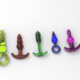 untitled.23.png Télécharger fichier STL gratuit 5 KIT GODE ANAL • Plan pour impression 3D, allv