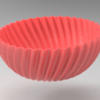 3D printer files bowl, allv