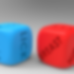 3D print files SEXY DICE / DICE FOR HOT GAME, allv
