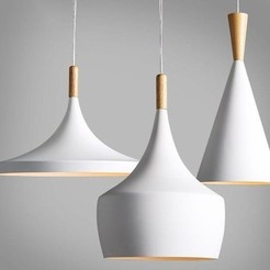 Download free STL files hanging lamps, allv