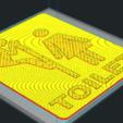 Imprimir en 3D TOILET SIGN, allv