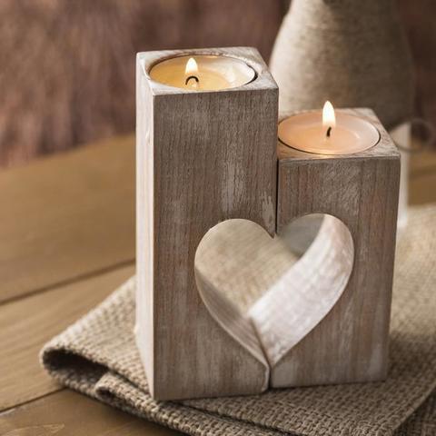 Free STL heart candlelight holder, allv