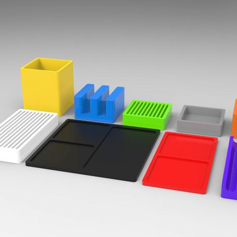 3d Printer Files Writing Organizers Kit