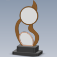Download free 3D printer templates trophy / trophy, allv