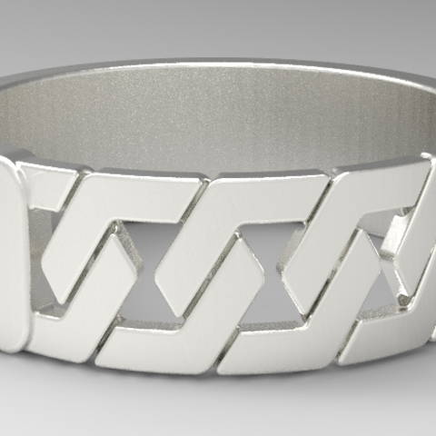 urghff.PNG Download free STL file hex ring /hex ring • 3D printing object, allv