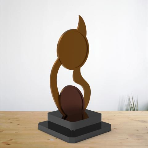 Télécharger modèle 3D gratuit trophée / trophée, allv
