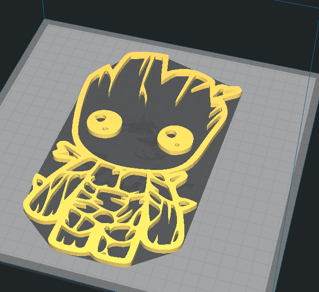 Capture.PNG Download free STL file WALL GROOT • 3D printer template, allv