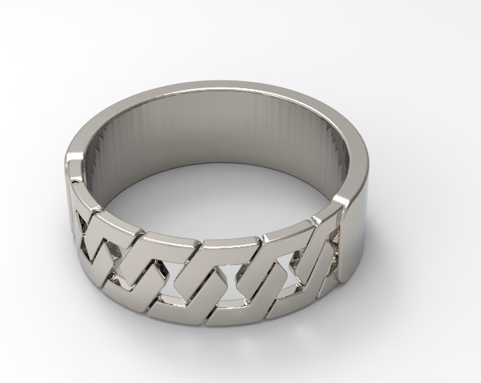 dsfsdf.PNG Download free STL file hex ring /hex ring • 3D printing object, allv