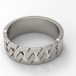 Download free STL file hex ring /hex ring, allv