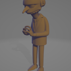 Download free 3D printer templates montgomery burns, allv
