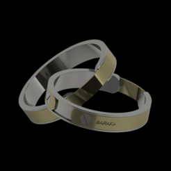 BARAKA_2020-Sep-07_12-41-35PM-000_CustomizedView10380907977_png.png Download free STL file Vintage Baraka wedding ring • 3D printing model, Yanbrabl