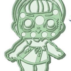 Descargar modelo 3D Lol 1 entera cookie cutter, osval74