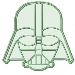 Descargar modelos 3D Darth Vader cookie cutter, osval74