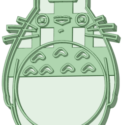 Descargar modelo 3D Totoro cookie cutter, osval74