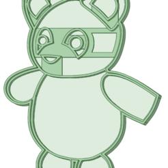 Panda_e.png Télécharger fichier STL Coupe-papa • Plan à imprimer en 3D, osval74