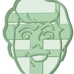 Download STL file Fred cookie cutter • 3D printer design, osval74