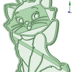 Download 3D print files Aristocats cookie cutter, osval74