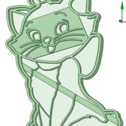 Descargar archivo 3D Aristogatos cookie cutter, osval74