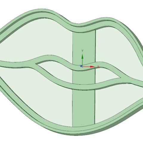 Télécharger plan imprimante 3D Emporte-pièce pour biscuits à l'emporte-pièce, osval74