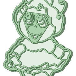 Download STL Piggy muppets babies cookie cutter, osval74