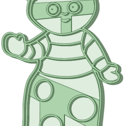 9_e.png Download STL file In the night garden 9 cookie cutter • 3D printable template, osval74