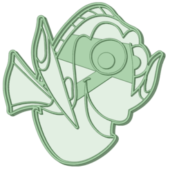 Dory.png Download STL file Dory cookie cutter Nemo • 3D printer design, osval74