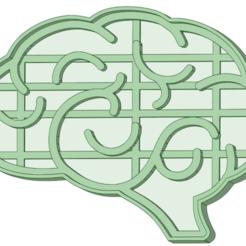 Télécharger fichier 3D Emporte-pièce pour biscuits au cerveau, osval74