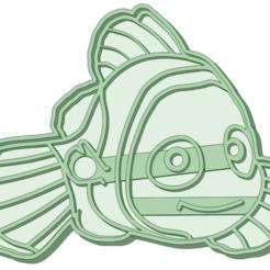 Descargar modelos 3D Nemo cookie cutter, osval74