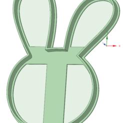 3D print model Rabbit cookie cutter, osval74