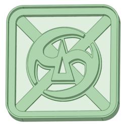 6.png Download STL file Final Fantasy 6 cookie cutter • 3D print object, osval74