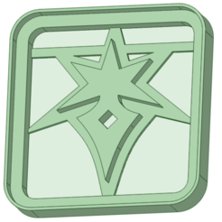 3_e.png Download STL file Final Fantasy 3 cookie cutter • 3D printing template, osval74