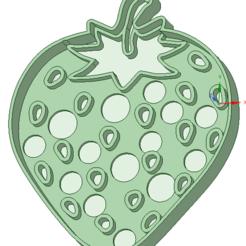 Fichier imprimante 3D Emporte-pièce à l'emporte-pièce Strawberry / Strawberry, osval74