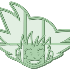 Download STL file Goku child cookie cutter, osval74