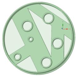 Imprimir en 3D Luna entera cookie cutter, osval74