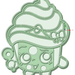 Download 3D printing files Merengue Shopkins cookie cutter, osval74