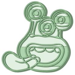4_1.png Télécharger fichier STL Nivis 4 moule à biscuit • Design pour imprimante 3D, osval74