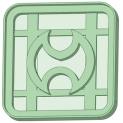 2 - copia.png Download STL file Final Fantasy 2 cookie cutter • 3D printer template, osval74