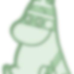 Télécharger fichier impression 3D Moomin moule à biscuit, osval74