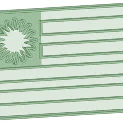 Bandera.png Download STL file Flag Uruguay cookie cutter • 3D print design, osval74